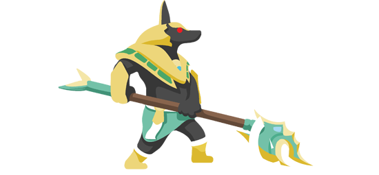 OP.GG Logo (Nasus, the Curator of the Sands)