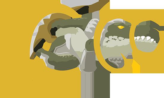 OP.GG Logo (Renekton, Slice and Dice)