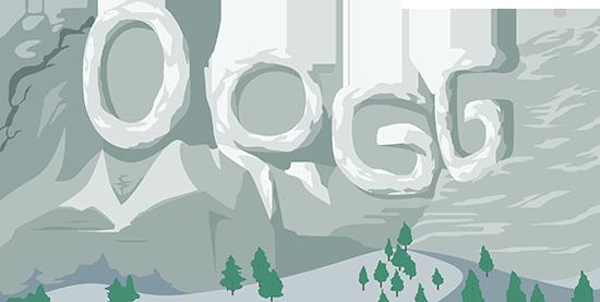 OP.GG Logo (Mount Rushmore)