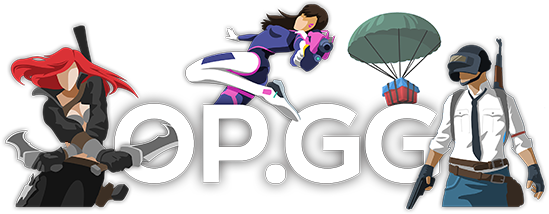 OP.GG Logo (OP.GG - All about League of Legends and Overwatch and PUBG)