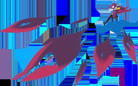 OP.GG Logo (Xayah, Double Daggers)