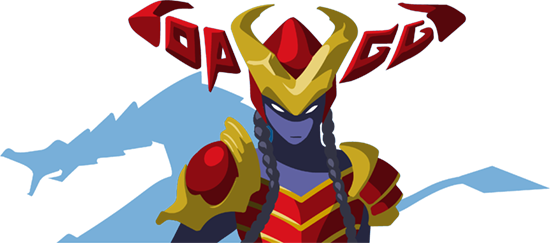 OP.GG Logo (Shyvana, Half-Dragon)