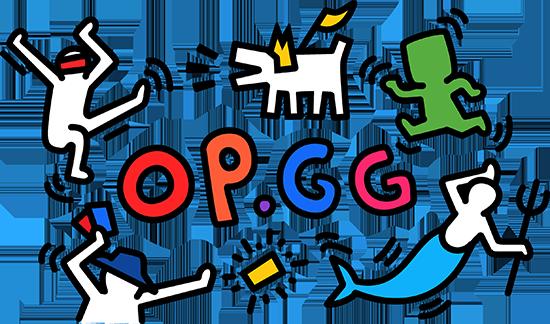OP.GG Logo (Keith Haring homage)
