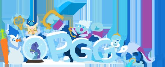 OP.GG Logo (Snowdown 2018)