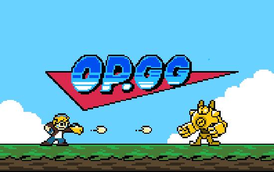 OP.GG Logo (Megaman)