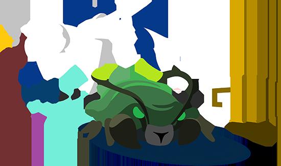 OP.GG Logo (Rift Scuttler)