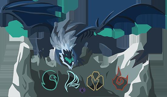 OP.GG Logo (Elemental Dragons)