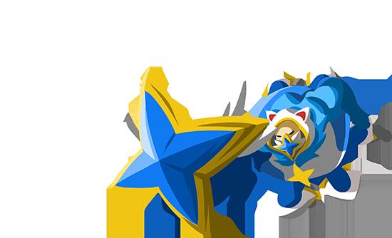 OP.GG Logo (Star Guardian Urgot)