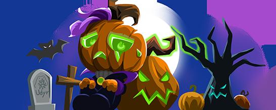 OP.GG Logo (Halloween)