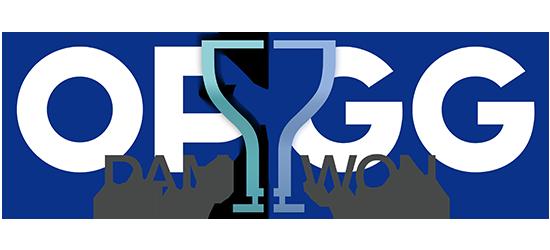 OP.GG Logo (2020 World Championship Winner DAMWON Gaming)